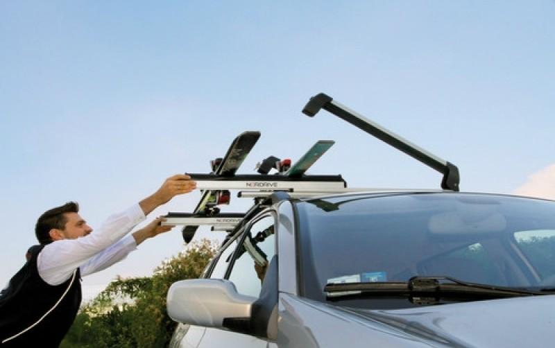 Car ski racks