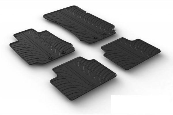 Rubber auto floor mats